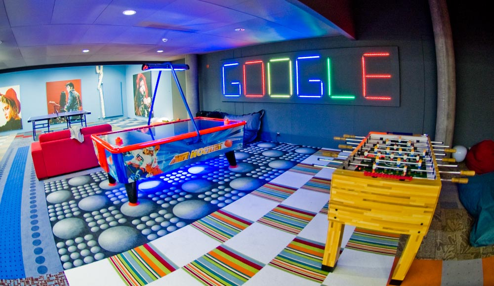 Google is the No. 1 place to work for the 8th time in 11 years